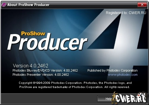 Photodex ProShow Producer 4.0.2549 RUS+ENG