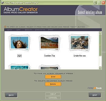screenshot10 of FirmTools Album Creator 3.4..0.559
